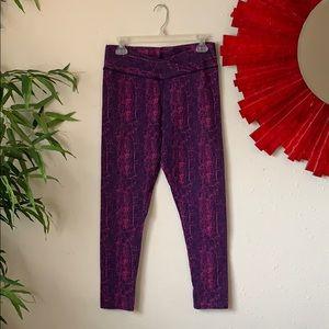 Purple Alligator Yoga Pant 🧘♀️ 🐊